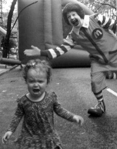 What is a Child's Fear of Clowns?